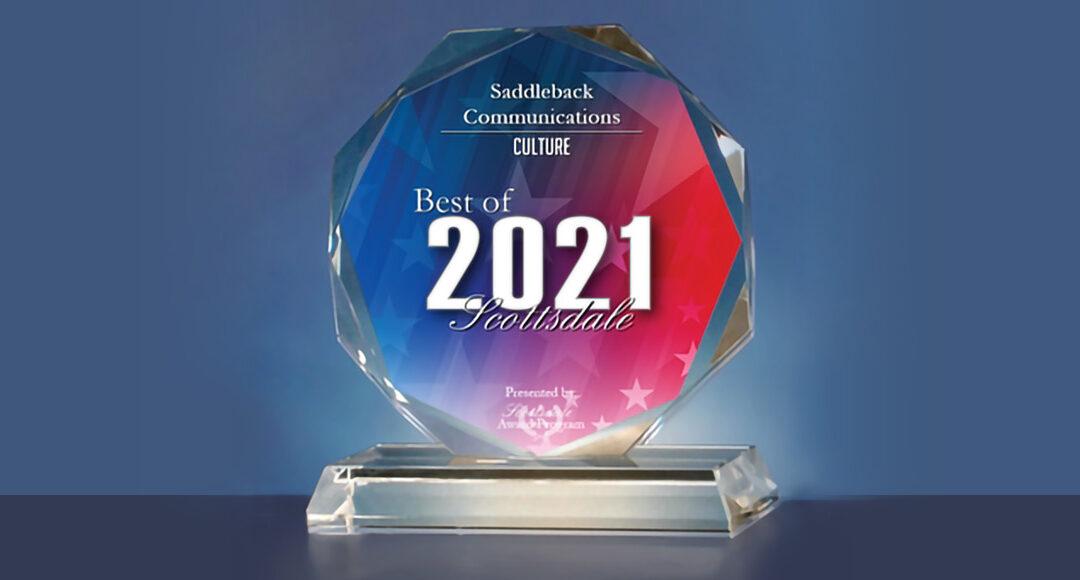Saddleback Communications Wins Best of Scottsdale Award